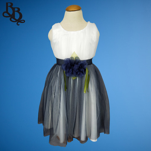 W014 Girls Formal Colour Tulle Dress
