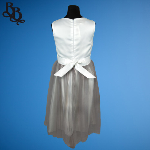 W019 Girls Formal Coloured Tulle Dress