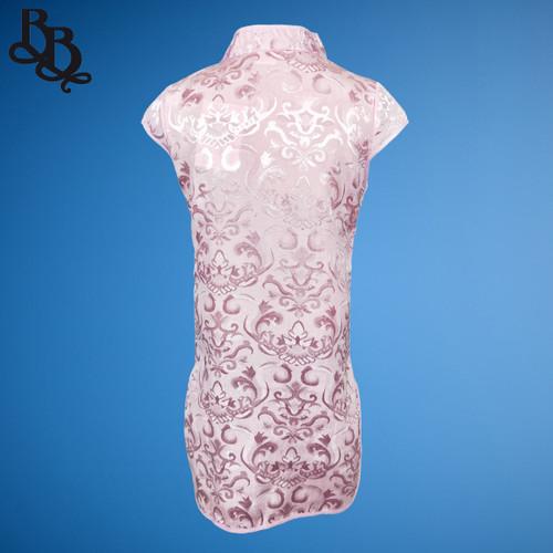 W111 Girls Floral Cheongsam Dress