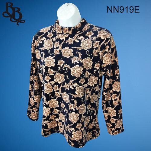 NN919 Ladies Floral Pattern Winter Top