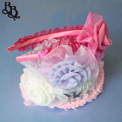 L266 Floral Colour Headband