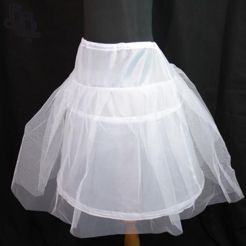 N101 Girls Petticoat with waist tie