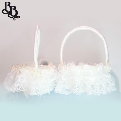 L340 Flowergirl Lace Basket