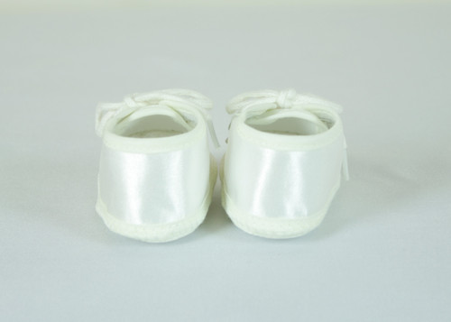 B59 Baby Boys Christening Shoe with Shoe Lace