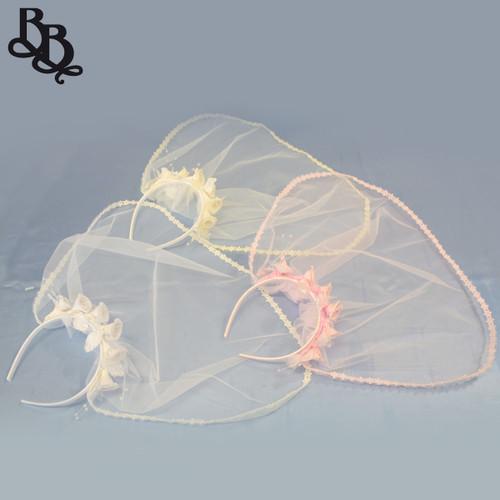 DK401 Rose Headband and Veil
