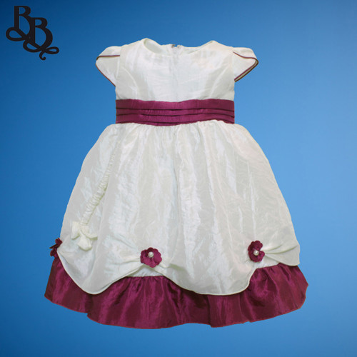 BU307 Simple Baby Girls Party Dress