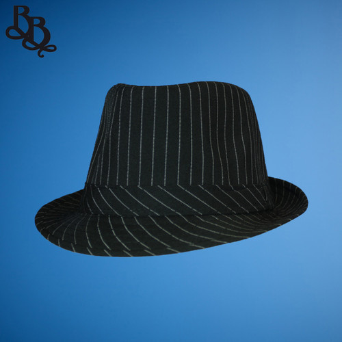 N372 Men's Pinstripe Fedora Hat