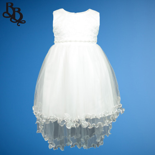 N513 Ivory Party Dress