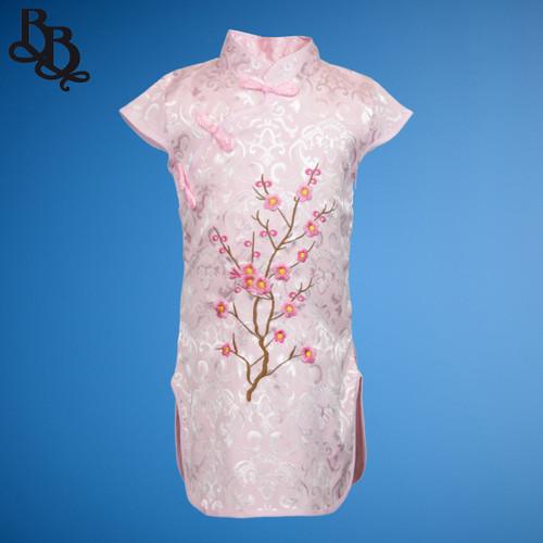 N521 Girls Oriental Cheongsam Dress