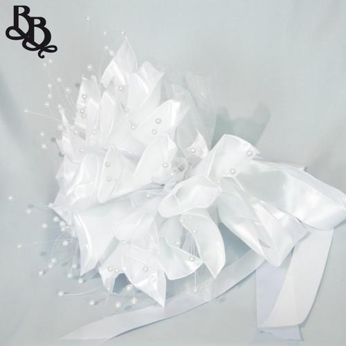 White Floral Wedding Bouquet N635
