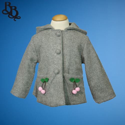N730 Girls Cute Cartoon Winter Jacket