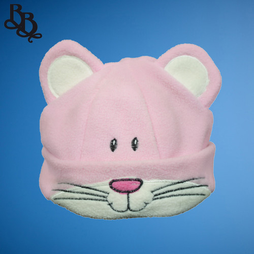 Unisex kitty cat fleece beanie glove scarf set F223
