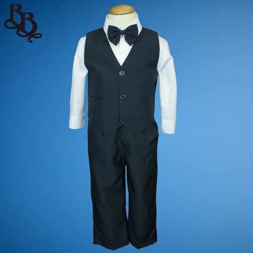 TT9Y Navy Page Boy Suit