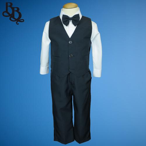 TT9Y Navy Page Boy Suit