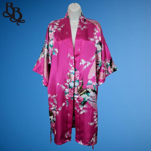N850 Lady Oriental Silky Sauna Hen's Bath Robe