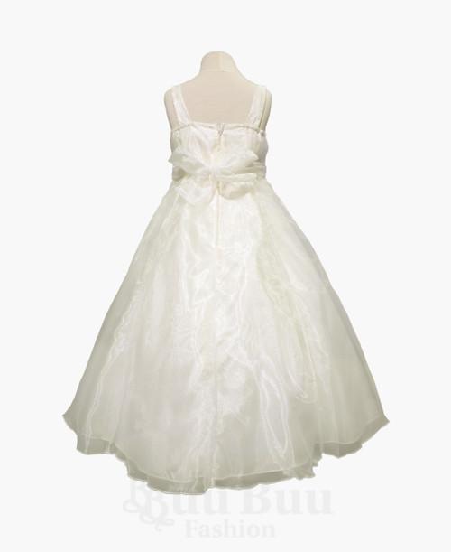 BU322 Organza Floral Formal Dress