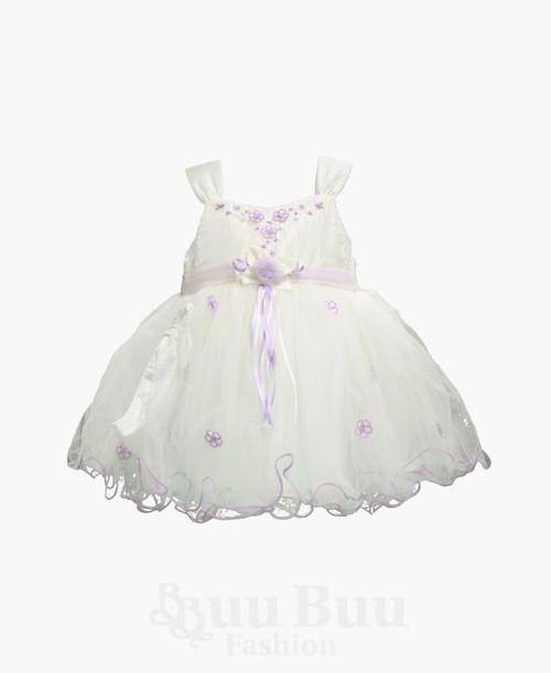 BU320 Colour Floral Party Dress