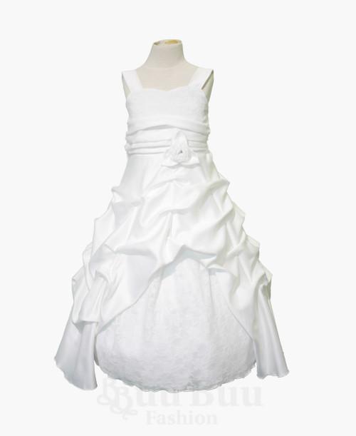 BU408 Formal Satin Princess Dress