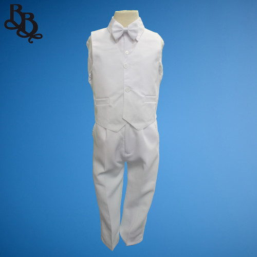 TT9 Simple Page Boy Vest Suit