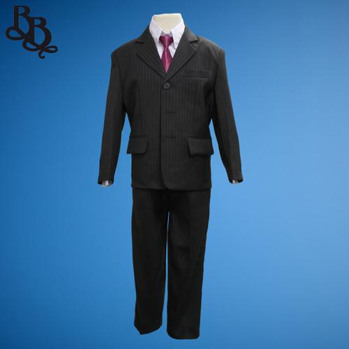TT73 Pinstripe 2 Piece Suit Jacket Trouser