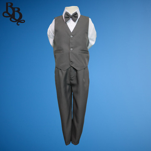 TT9G Plain Grey Page Boy Suit