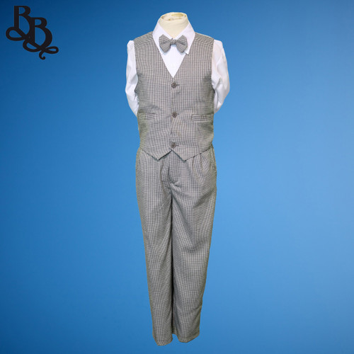 TT51 Houndstooth Pattern Page Boy Suit
