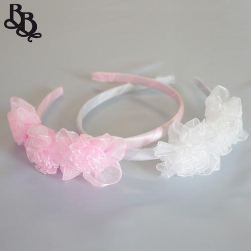 L306 Girls Floral Headband