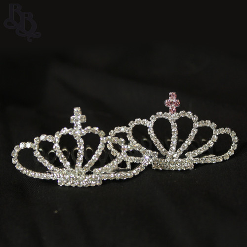 N225 Diamante Mini Tiara for Toddler