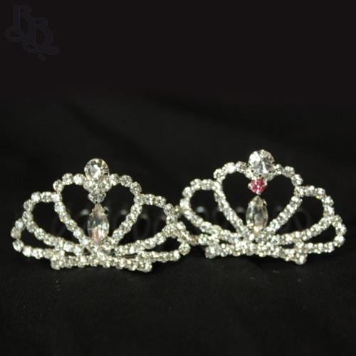 N227 Diamante Mini Tiara for Toddler