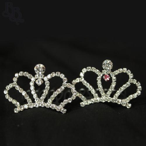N230 Diamante Mini Tiara for Toddler