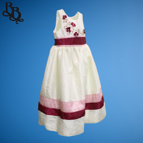 BU305 Baby Girl Toddler Floral Dress