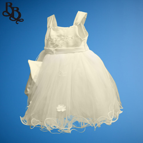 BU253 Baby Girls Ivory Flowergirl Formal Dress