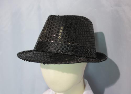 L095 Boys Sparkling Fedora Hat
