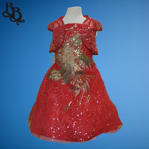 L031 Girls Phoenix Sparkling Party Dress