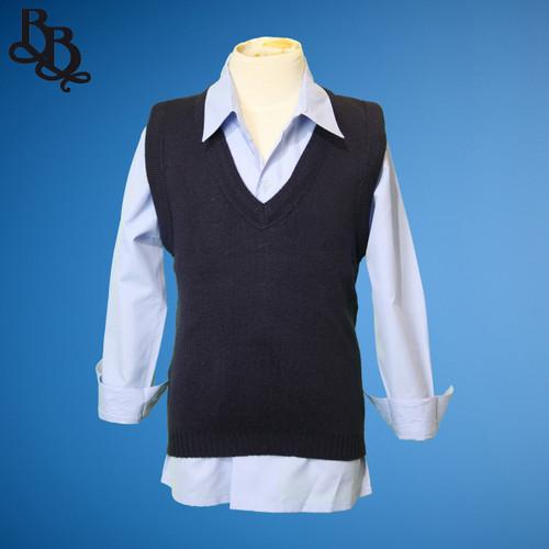 J498 Winter Navy Vest / Waistcoat