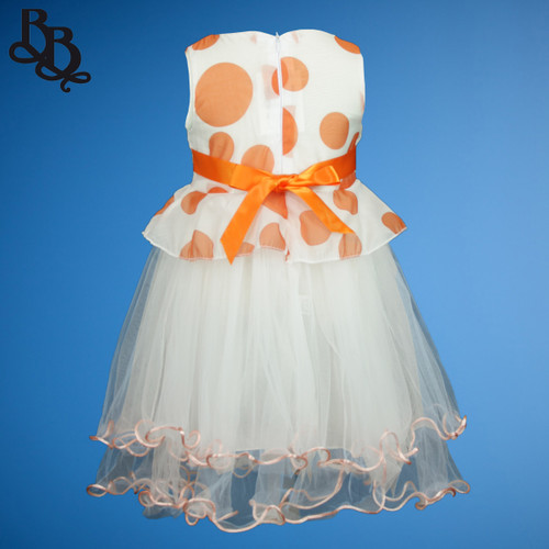 N517 Spotted Party Dress