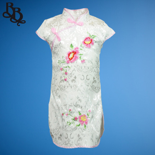 N523 Girls Oriental Cheongsam Dress