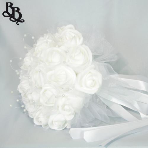 White Wedding Bouquet N636
