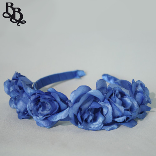 Girls Floral Headband N638