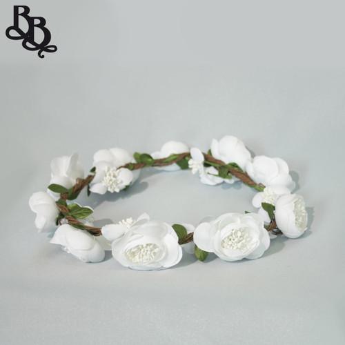 Girls Floral Wreath Halo Headpiece FL15