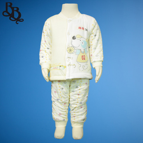 N723 Baby 2 Piece Dog Pyjama Set