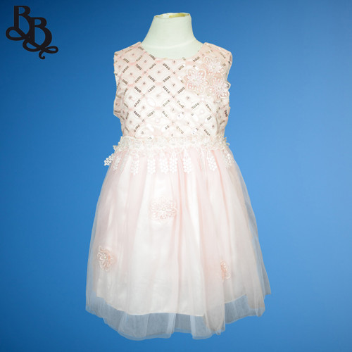 N804 Girls Party Dress