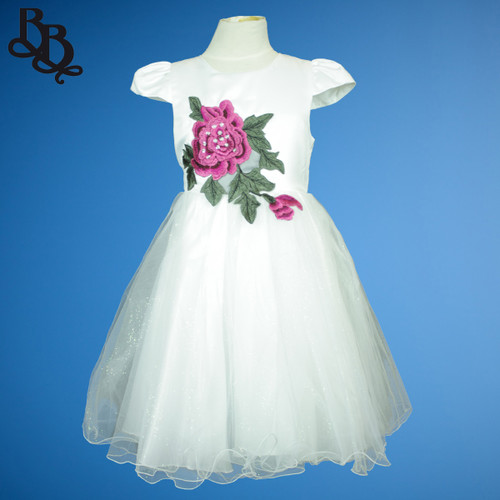 N806 Girls Party Dress