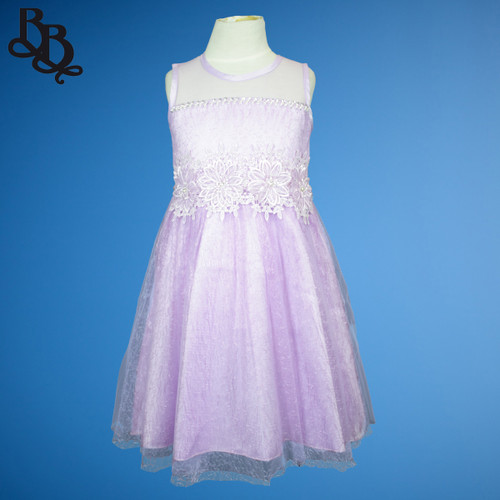 N810 Girls Party Dress