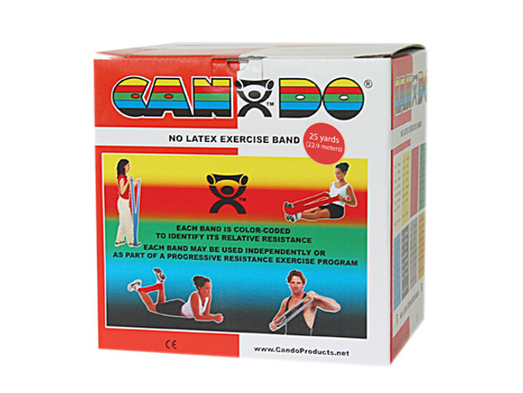 CanDo Latex Free Exercise Band Rolls