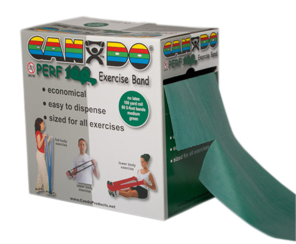 CanDo Perf 100 Latex Free Exercise Band