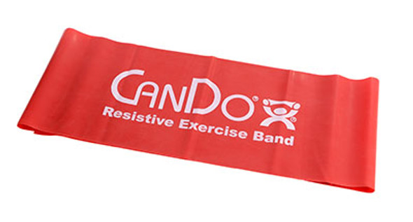 CanDo Low Powder Pre-cut Exercise Band