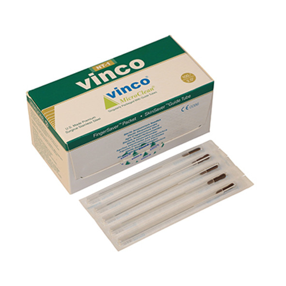 Vinco-Blister Acu Needle, 100/box, #34 x 2.0 inch