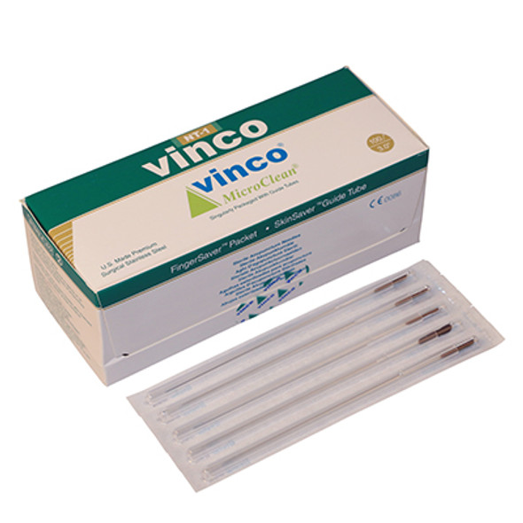 Vinco-Blister Acu Needle, 100/box, #34 x 3.0 inch