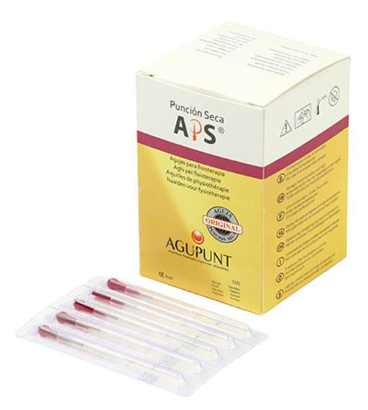 APS Dry Needling Needle, 0.25  x 13 mm, Dark Pink Tip, 100/Box